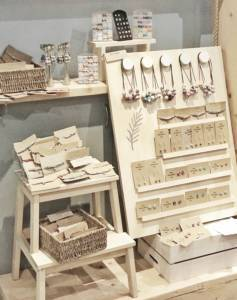 Jewellery and Craft Display in Made By Rachel Shop